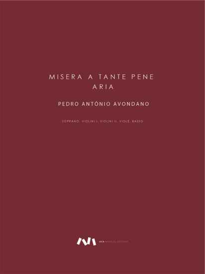 Picture of Misera a tante pene - Aria