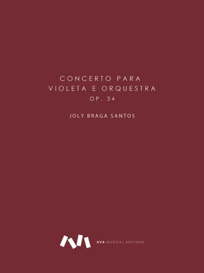 Imagem de Concerto para Viola e Orquestra Op. 34