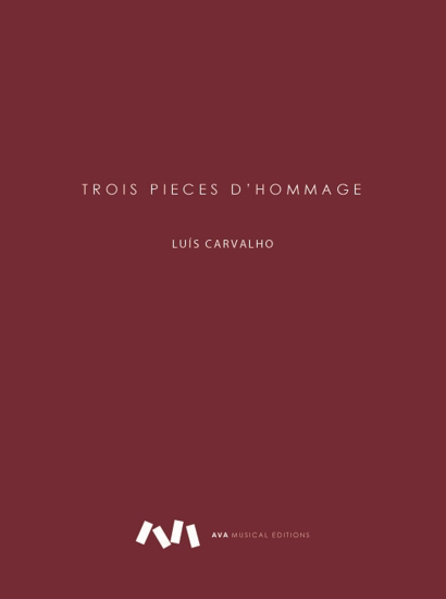 Picture of TROIS PIECES D'HOMMAGE