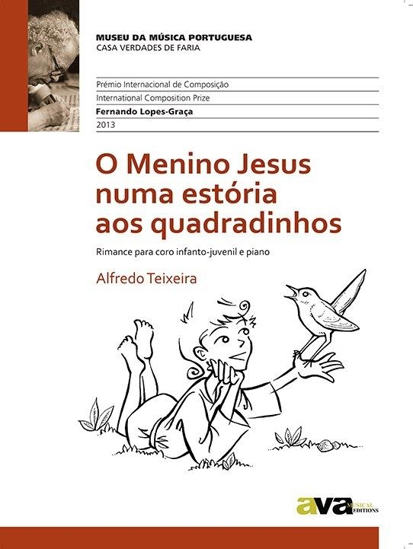 Imagem de O Menino Jesus numa estória aos quadradinhos