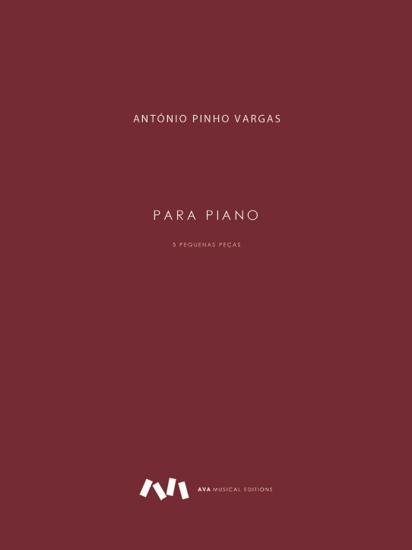Picture of 5 Pequenas Peças para Piano