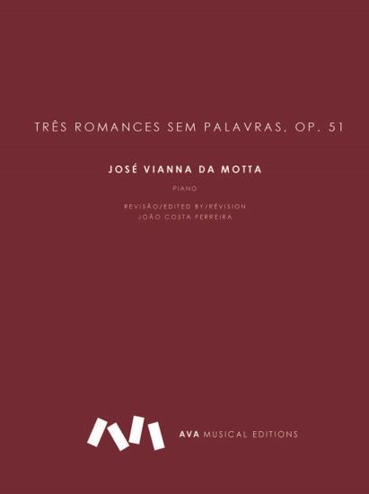Picture of Três Romances sem Palavras, op. 51