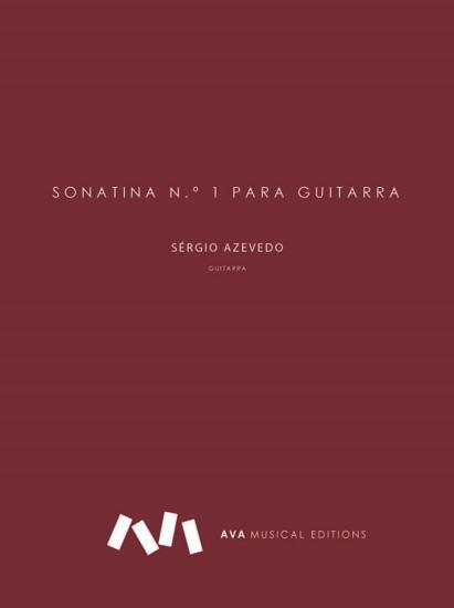 Imagem de Sonatina n.º1 para Guitarra