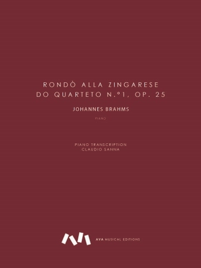 Picture of Rondò alla Zingarese do Quarteto n.°1, op. 25