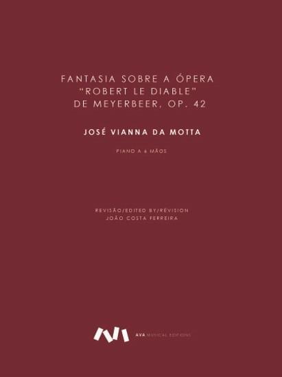 """Imagem de Fantasia sobre a ópera """"Robert le Diable"""" de Meyerbeer, op. 42"""