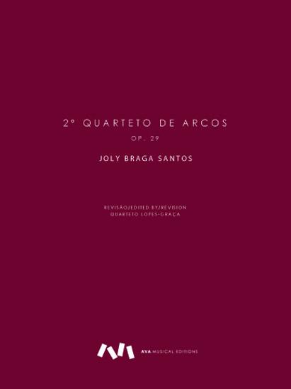 Imagem de Quarteto de arcos Nº2, op.29
