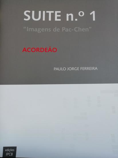 """Imagem de Suite No. 1 - """"Images of Pac-Chen"""""""