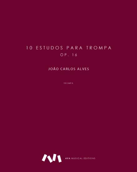 Imagem de 10 estudos para trompa, op. 16